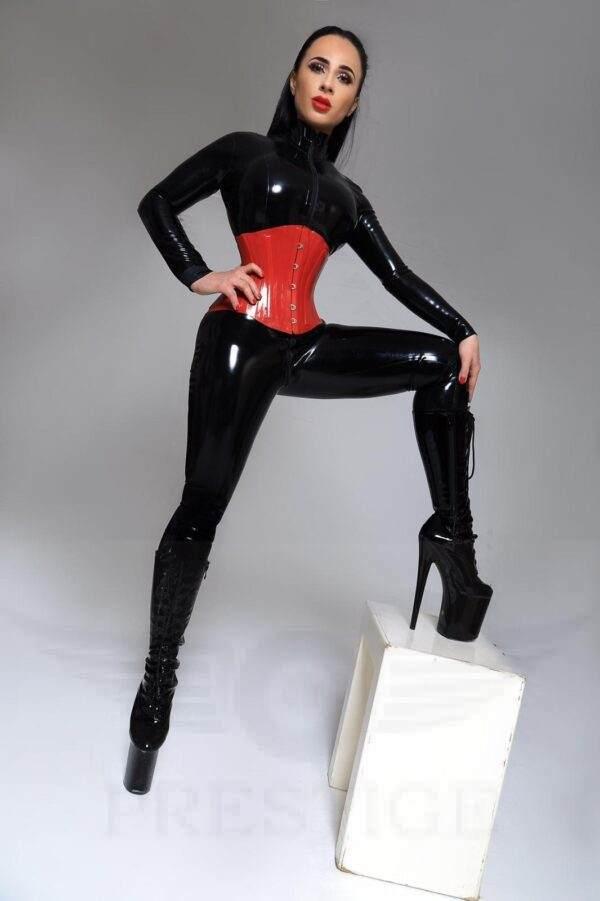 PVC Princess Christina, ready to punish
