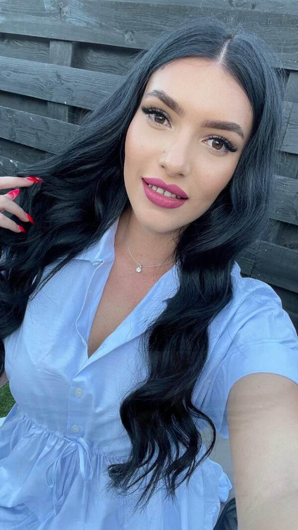 Selfie of pretty Patricia